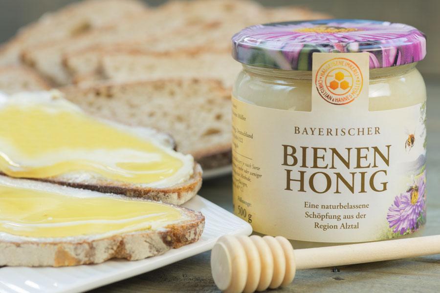 Honigbrot - einfach zum Anbeißen