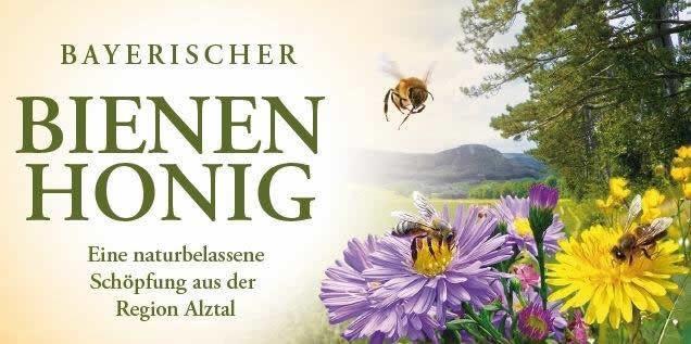 Bienenhonig Etikett