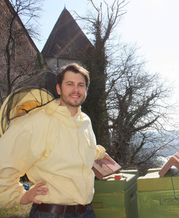 Burgbienenvolk auf der Burg zu Burghausen