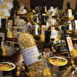 Geschenkkörbe mit Honigprodukten