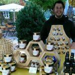 Honig Marktstand