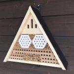 Nistkastenmodell Mauerbienen