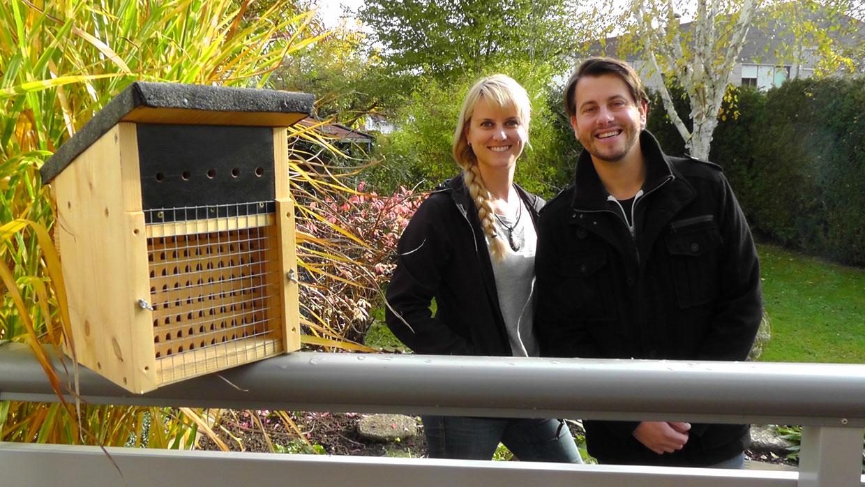 """""""Bee wild"""" ist ein Projekt von Christian Müller und Christine Neumann"""