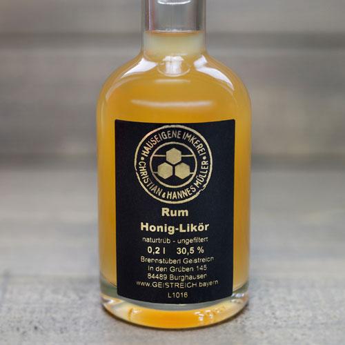 Rum Honig-Likör