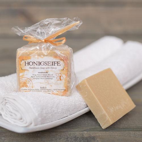 Handgemachte Seife aus Honig