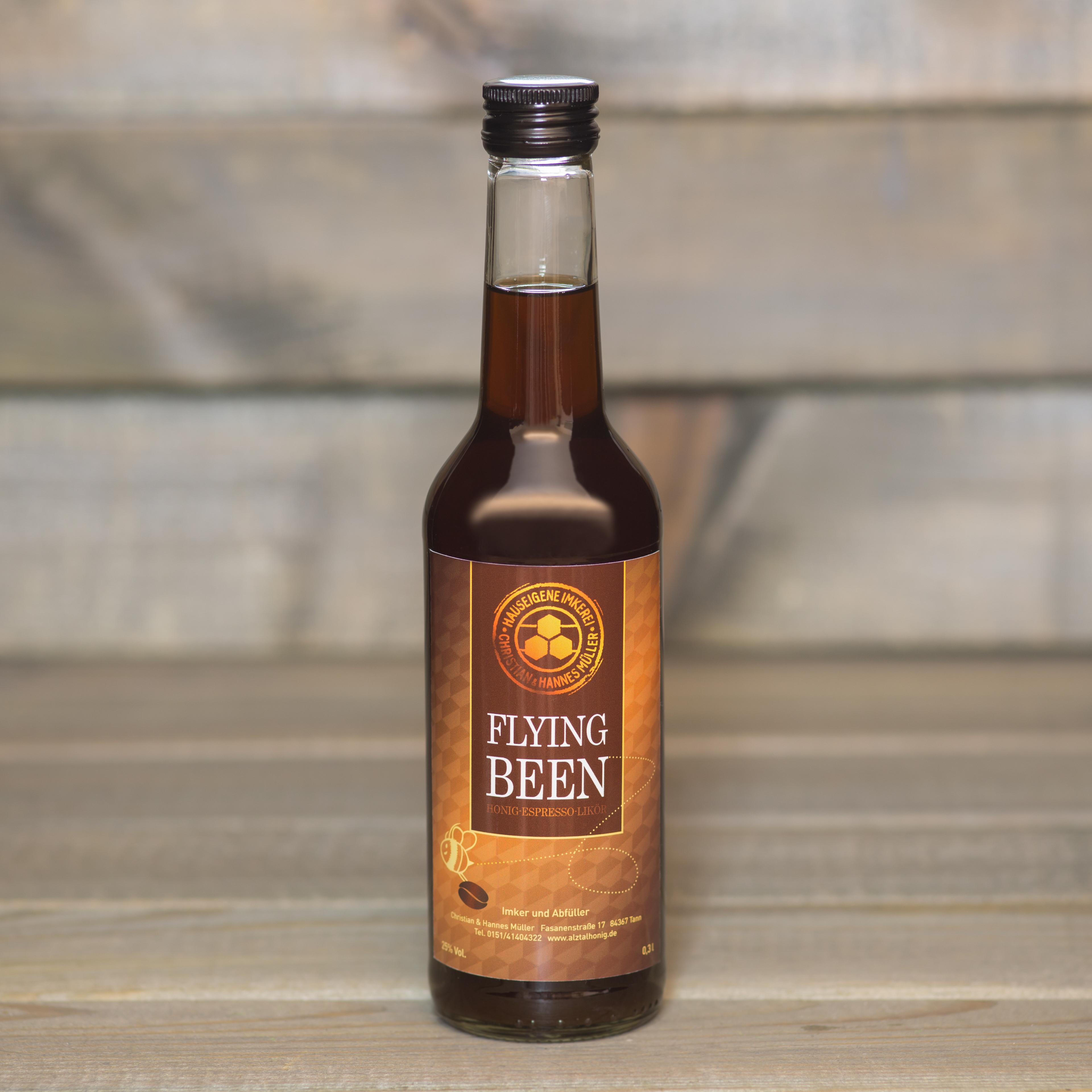 Honig-Espresso-Likoer