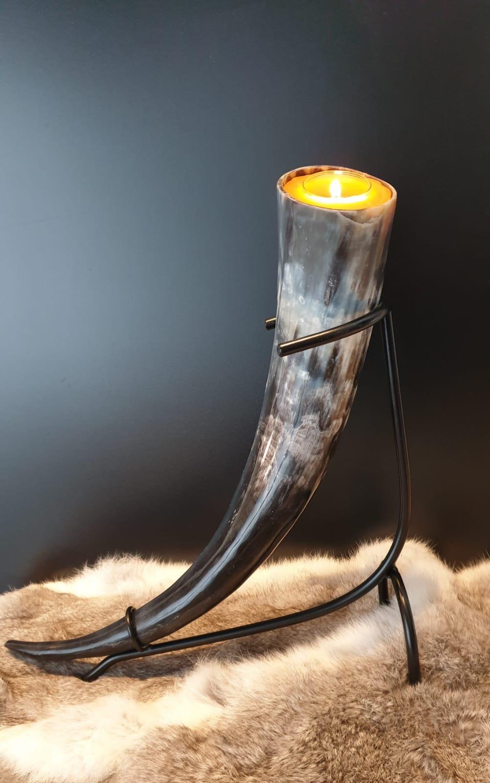 Kerze Trinkhorn